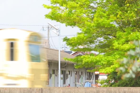 2015/4/24 四日市あすなろう鉄道 内部線 赤堀~日永