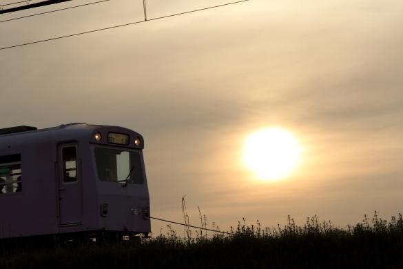 2015/4/24 四日市あすなろう鉄道 内部線 日永~南日永