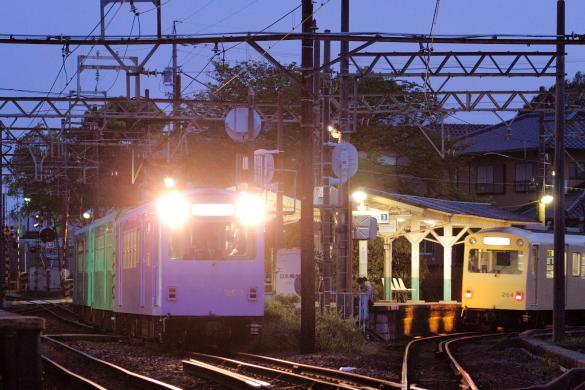 2014/4/24 四日市あすなろう鉄道 内部線/八王子線 日永