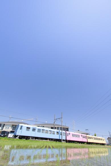 2015/5/5 四日市あすなろう鉄道 八王子線 日永~西日野
