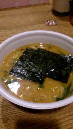 山岡家 カップ麺(中身)