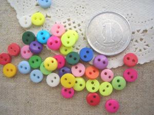 ミニボタン 円6mm