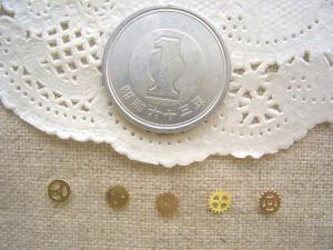 銅メタル:ミニギア5種