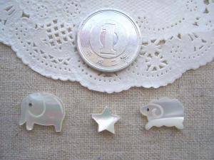 象さん、白い星、羊