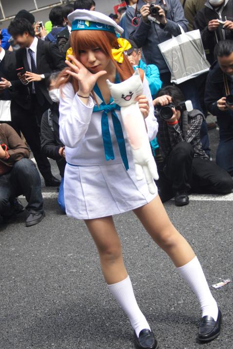 日本橋ストリートフェスタ(ストフェス)2015エラー娘「ひな太」さん