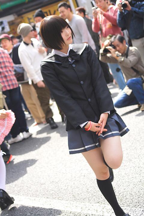 日本橋ストリートフェスタ(ストフェス)2015あまがみ橘美也 「肉球あやと」さん