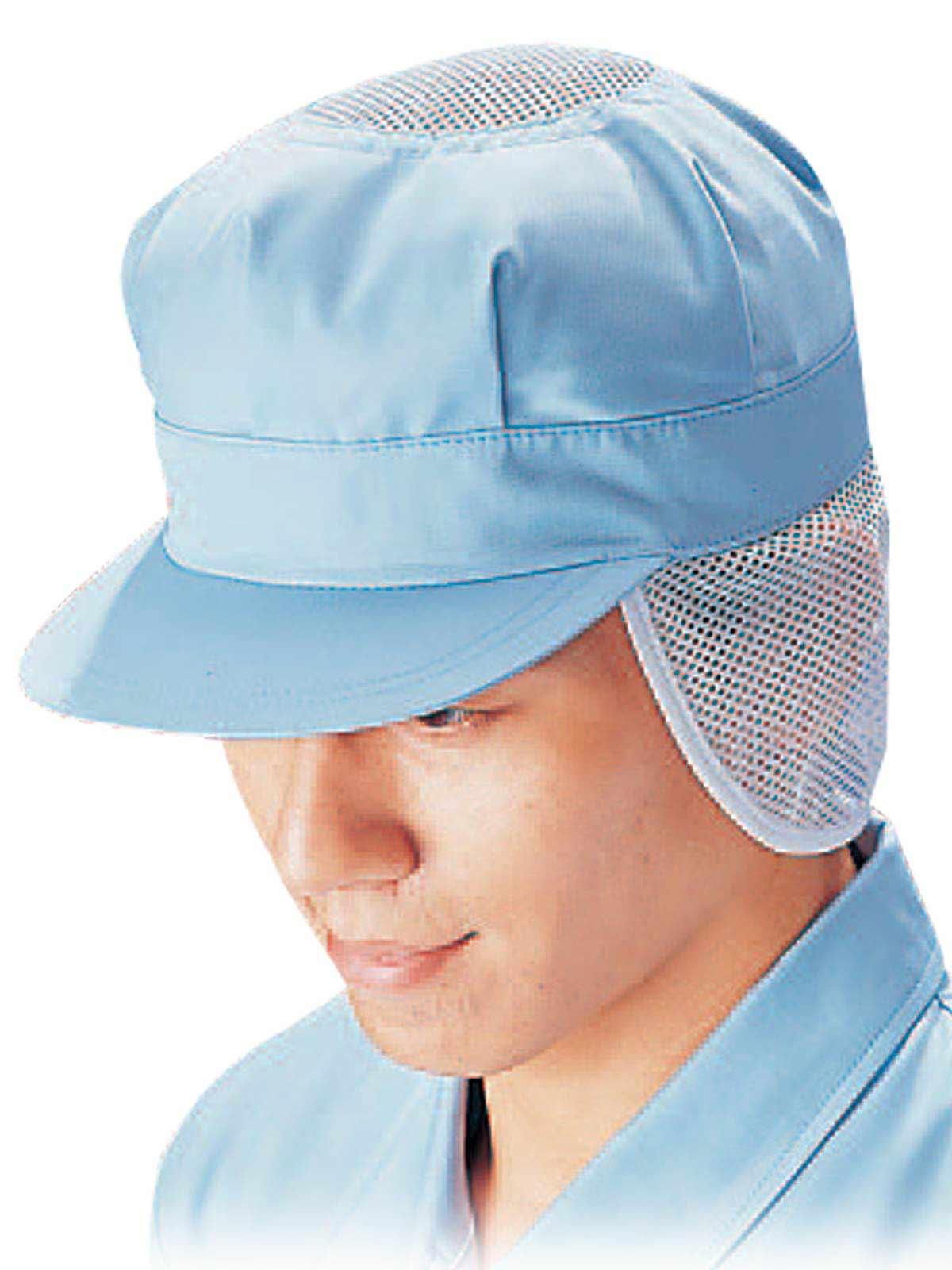 八角帽子 SK53 ブルー
