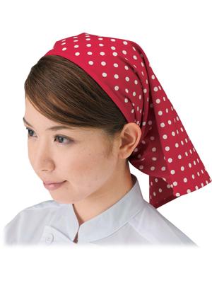 水玉柄三角巾 SK7010