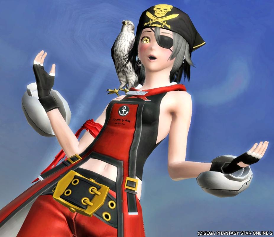海賊に鷹ってカッコいいよね!?