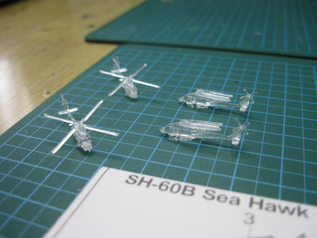 SH-60B Sea Hawk 対潜哨戒