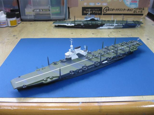HMS VICTORIOUS 1941  完成の1