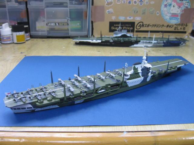 HMS VICTORIOUS 1941 完成の2
