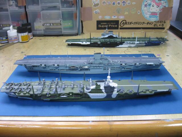 HMS VICTORIOUS 1941 完成の3