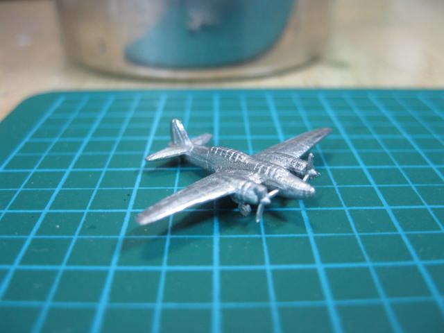 三菱97式重爆撃機 1/700 ・・・