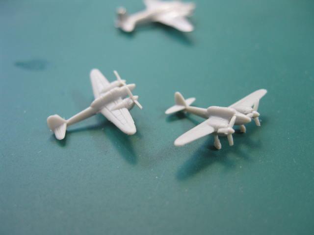 2式複座戦闘機 屠龍 1/700