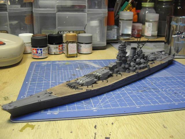 戦艦 武蔵 2007年頃完成・・・再掲