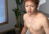 ゲイ動画:激可愛い大学一年19歳ピュアな柔道部くん !!