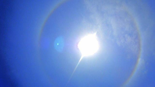 5月11日午前10時52分の天使の太陽リング4