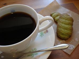 抹茶のラングドシャ