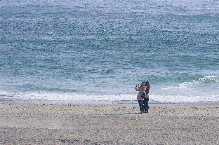 伊良湖の砂浜