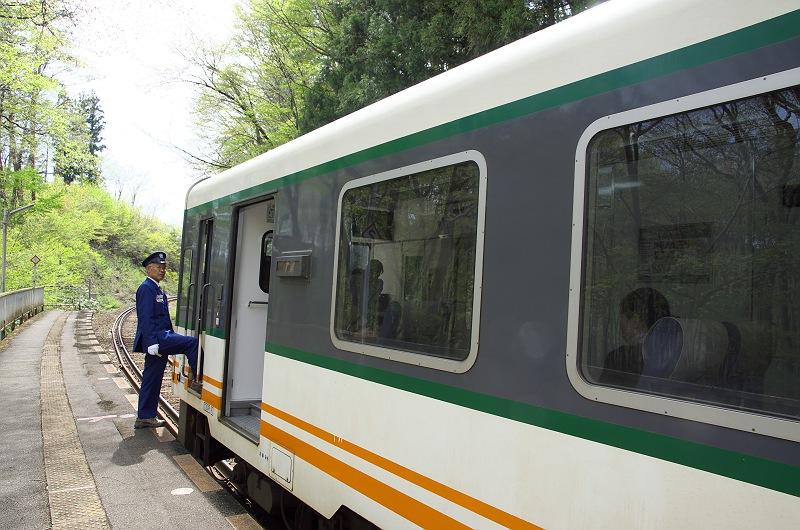旅情 ~会津鉄道会津線 塔のへつり駅~