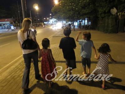アオナン、クラビ、家族旅行