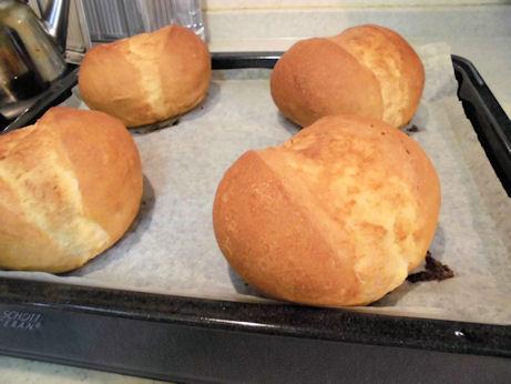 パンやけた