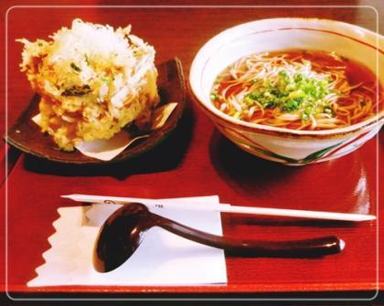 かき揚蕎麦