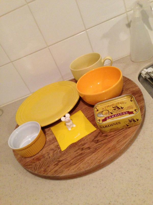黄色 キッチン雑貨
