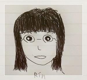 Rinの似顔絵その2