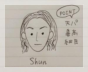 Shunの似顔絵