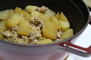 豚肉と大根の生姜煮