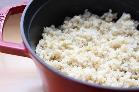 ストウブ玄米