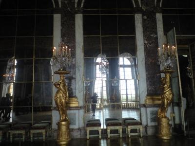 ヴェルサイユ鏡の間の鏡