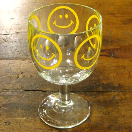 スマイル ゴブレットグラス サンデーグラス パフェグラス