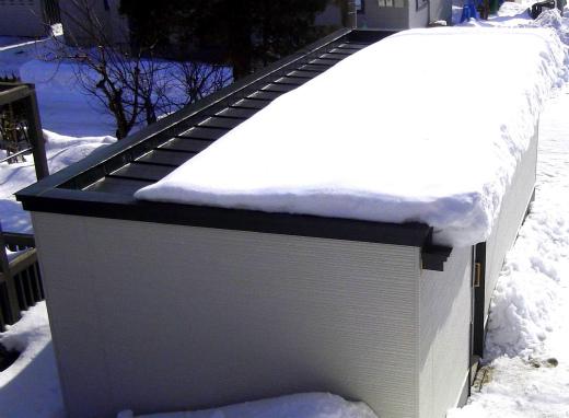 s-626-3屋根の雪