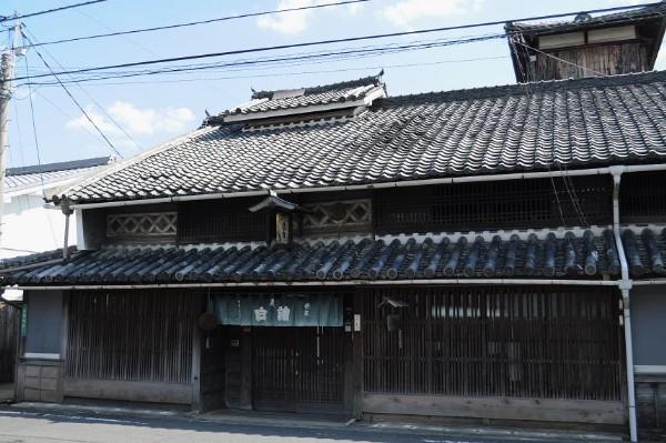津山市中之町 歴史建造物