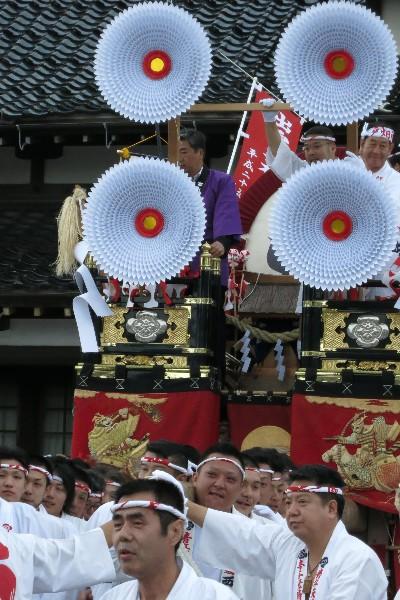 出雲市 旧大社駅前  戸畑祇園山笠