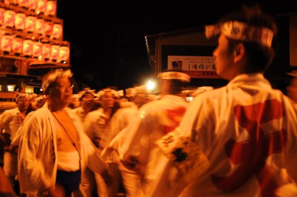 出雲大社の「平成の大遷宮」を祝い、山笠運行を奉納 戸畑祇園大山笠 提灯山笠