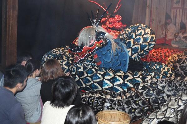 石見神樂 温泉津温泉 夜神樂 大蛇