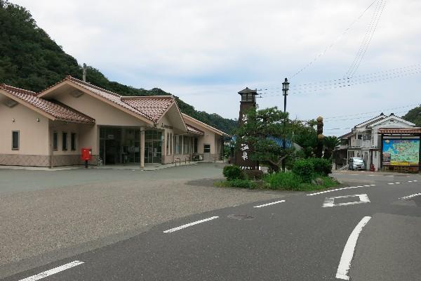 温泉津温泉 駅周辺の町並み