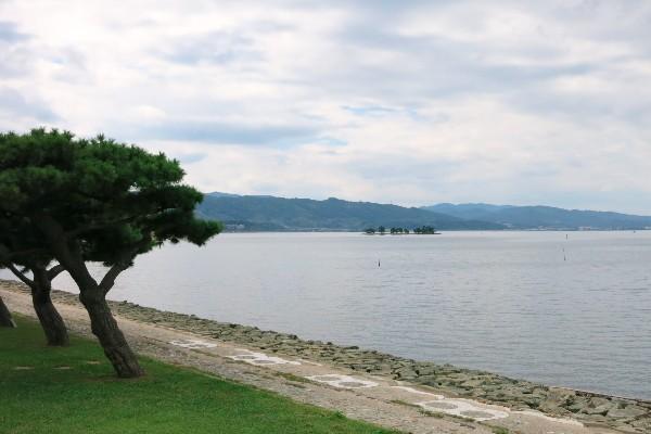 島根県松江市 白潟公園界隈
