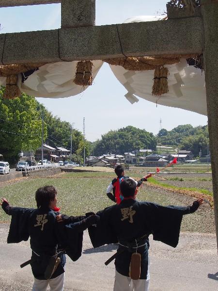 今治春祭り 野間日吉神社