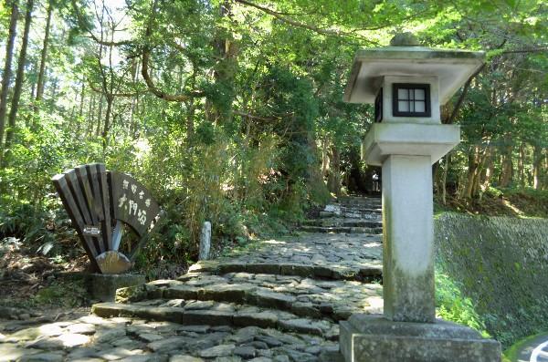 世界遺産「紀伊山地の霊場と参詣道」に登録された熊野古道