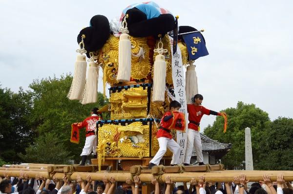 西条祭り 嘉母神社祭礼 高丸子供太鼓台