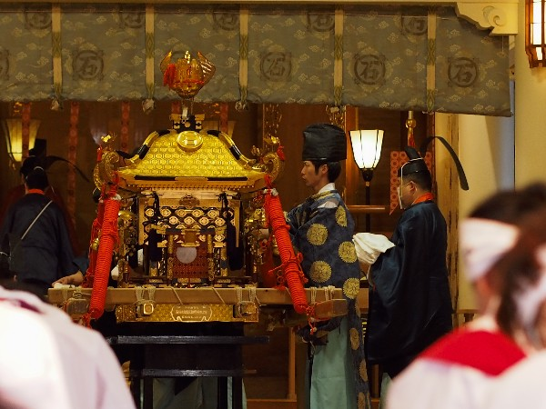 石鎚神社春祭り
