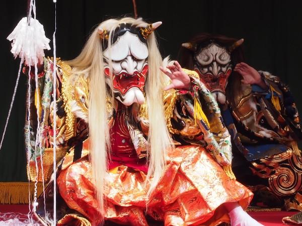 石鎚神社春祭り 神樂