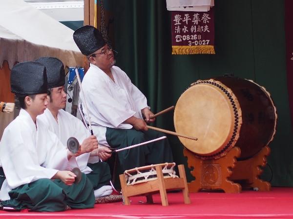石鎚神社春祭り 琴庄神樂団