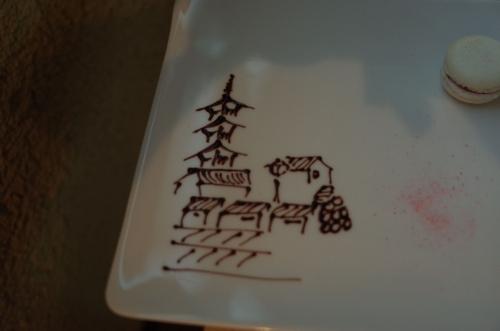 高台寺周辺の絵
