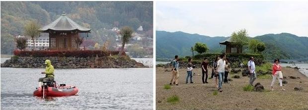 河口湖浮島